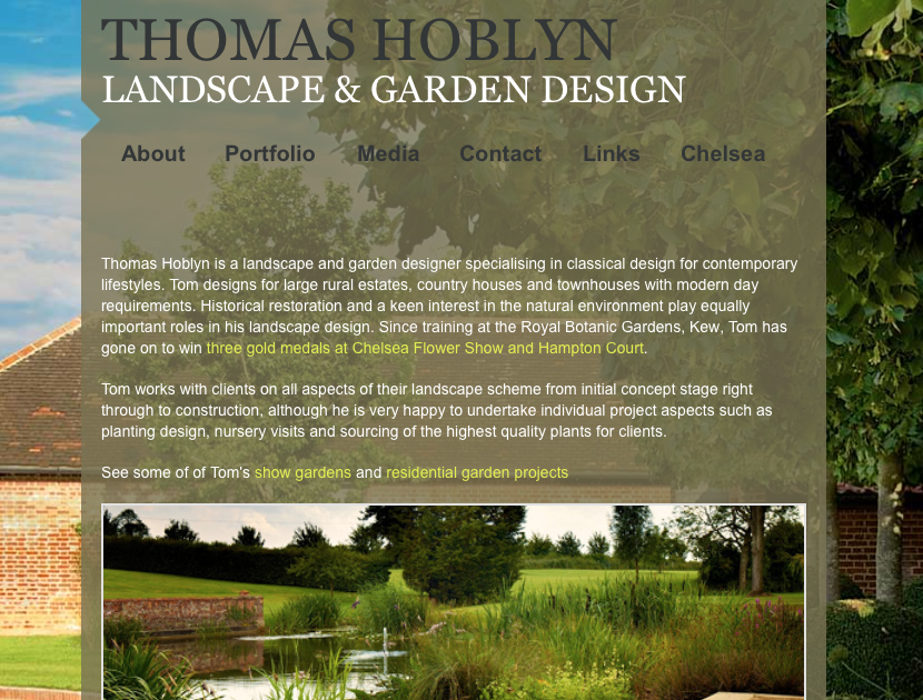 thomas hoblyn garden design